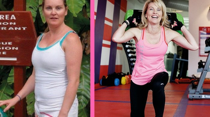 Weight-loss transformation of Sharron Ritchie