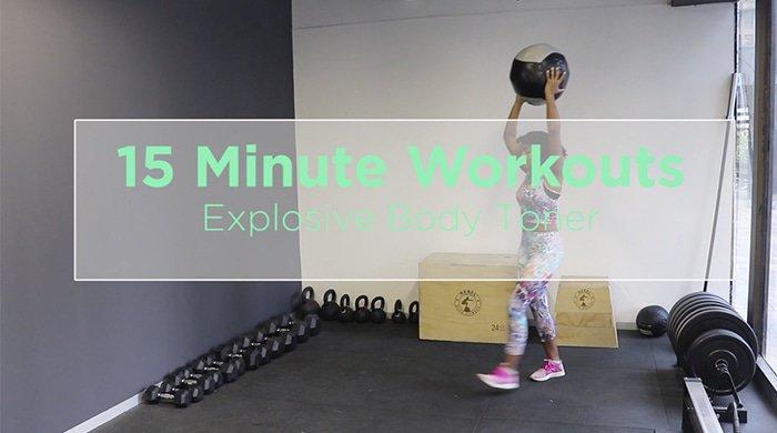 explosive body toner workout