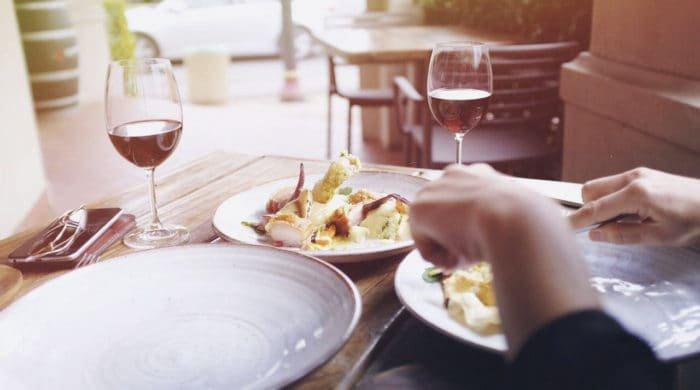 Top restaurants list