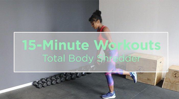 total body shredder workout