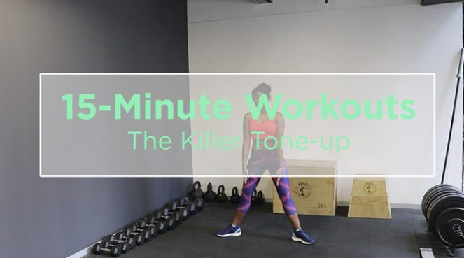 killer tone-up workout
