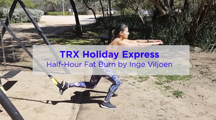 This Holiday TRX Workout Is Like A Full Gym Sesh In Just Half An Hour