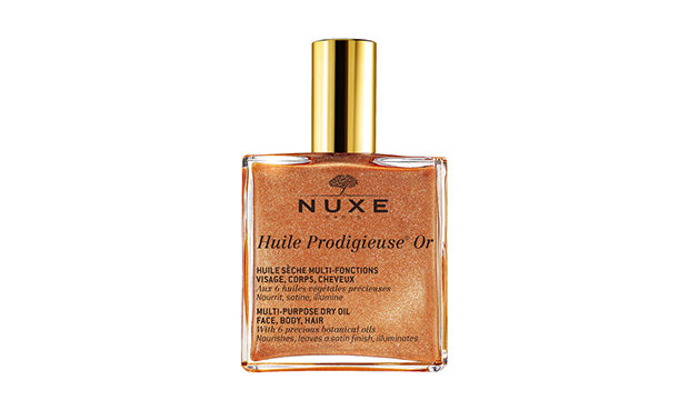 Nuxe Dry Oil With Gold Shimmer