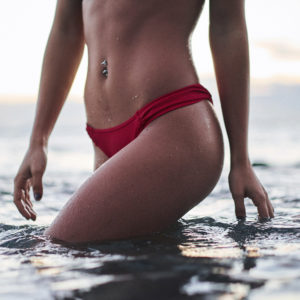 I Tried The Water-Dumping Method For A Bikini Shoot... Here's How It Went
