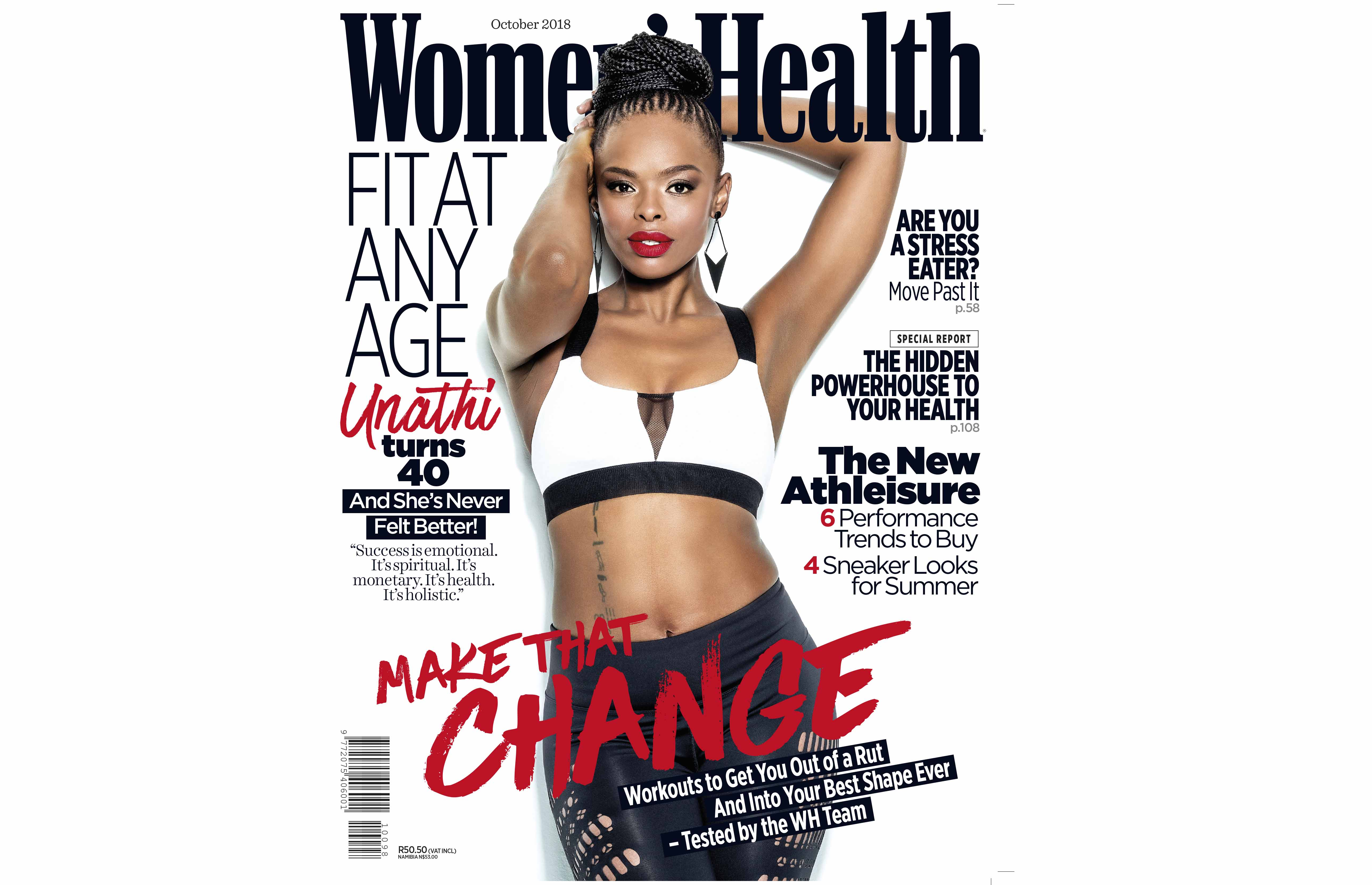 how Unathi stays in shape