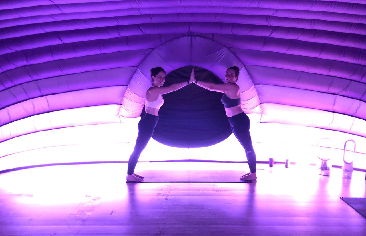 I tried hotpod yoga