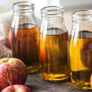 Apple cider vinegar shots to cure a cold