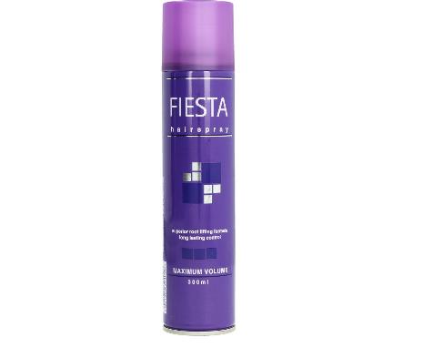 Fiesta Hairspray Maximum Volume