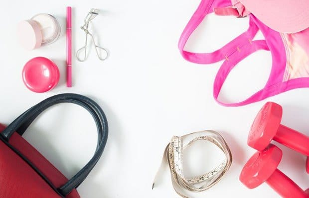 The Only Beauty Products You Need In Your Gym Bag