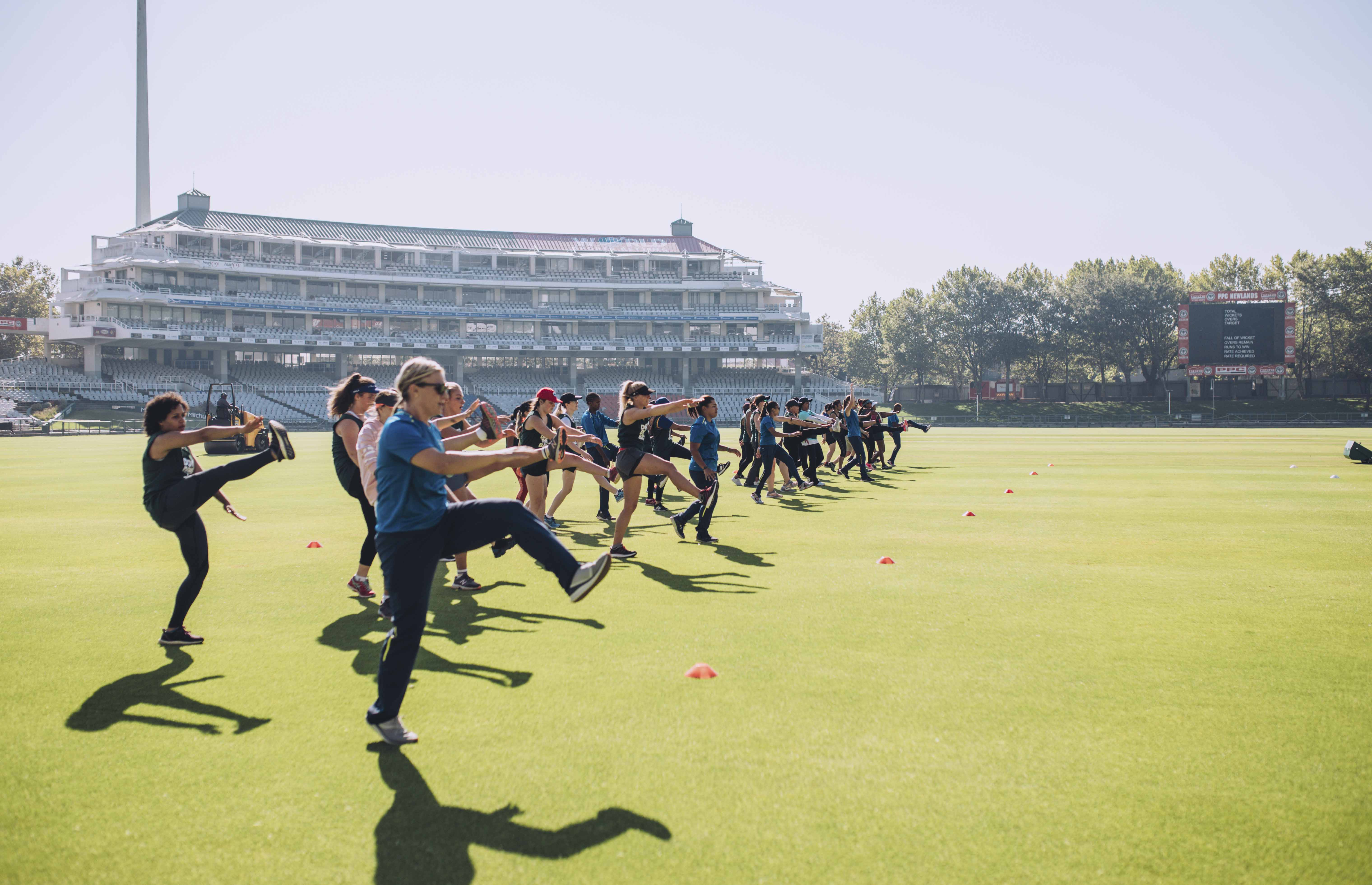 Proteas sporty drills