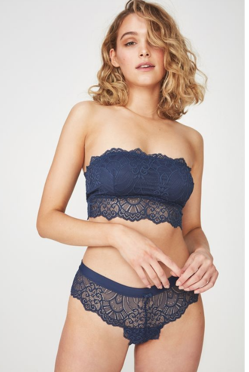 cc6a7d33be ... and you re festival ready. Or simply wear them the matching briefs for  a laid-back-lounging around the house look. Get it at Cotton On from R199