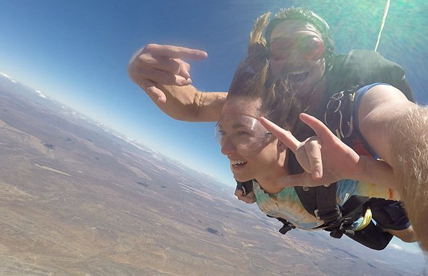"""This Is What Jumping Out Of A Plane REALLY Feels Like"""