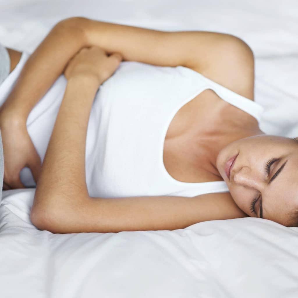 Stomach hurt after sex