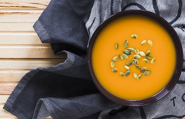 This 5-Ingredient Butternut Soup Will Keep Your Warm All Winter