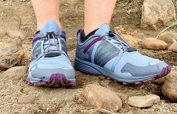 close-up of the hi-tec trail shoe