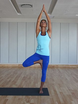 yoga balance poses
