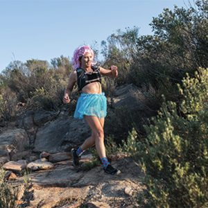 """""""I Ran A 20km Trail Run In A Tutu And A Wig – Here's Why"""""""