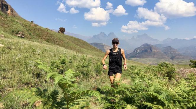 Nicolette Trail running