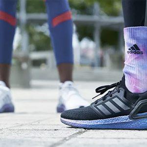 festive fitness motivation — adidas ultraboost20 launch