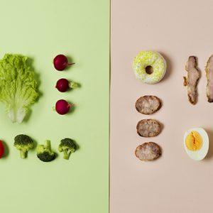 detox food vs junk food